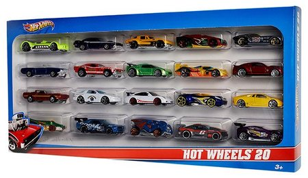 Hot Wheels 20ks angličák H7045