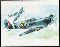 Supermarine Spitfire Mk.VB Red Stars 1:72