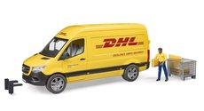 Bruder 2671 MB Sprinter DHL s řidičem