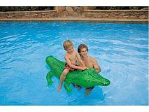 Intex Vodní vozidlo krokodýl 168 x 86 cm