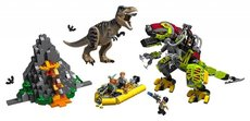 LEGO® Jurassic World™ 75938 T. rex vs. Dinorobot