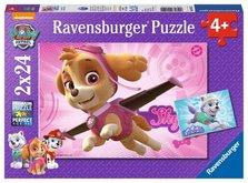 Puzzle Ravensburger Tlapková Patrola 2x24 dílků