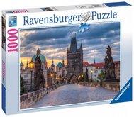 Puzzle Ravensburger Praha: Procházka po Karlově mostě 1000 dílků