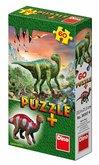 Dino puzzle Dinosauři + Figurka 60D
