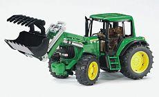 Bruder 2052 Traktor John Deere 6920 + čelní nakladač