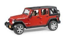 Bruder 2525 Jeep Wrangler Rubicon červená