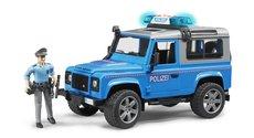 Bruder 2597 Land Rover s figurkou policisty