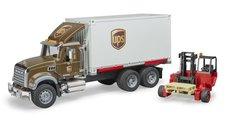 Bruder 2828 MACK Granite UPS s vysokozdvižným vozíkem
