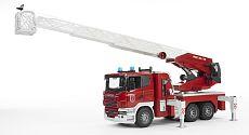 Bruder 3590 Scania Hasičské auto