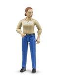 Bruder 60408 Bworld figurka žena modré kalhoty