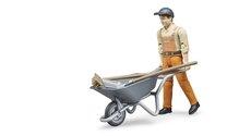 Bruder 62130 BWorld Figurka set Stavební dělník