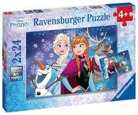 Puzzle Ravensburger Ledové království 2x24 dílků