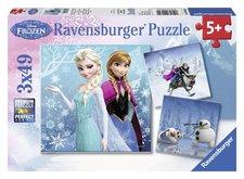 Ravensburger Puzzle Ledové království 3x49d.