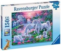 Ravensburger puzzle Jednorožci při západu slunce 150 XXL dílků