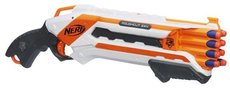 NERF Elite ROUGH CUT střílí 2 šipky najednou bílá