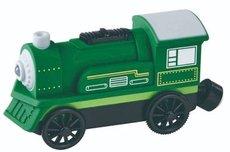 Maxim Elektrická lokomotiva zelená