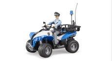 Bruder 63010 Policejní čtyřkolka s figurkou policisty