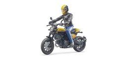 Bruder 63053 Scrambler Ducati Full Throttle s řidičem