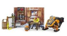 Bruder 63102 Bworld horská chata se sněžným skútrem