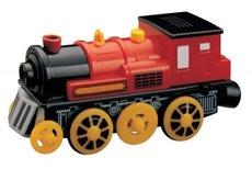 Maxim Parní lokomotíva červená 504126