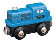 Dieselová lokomotiva - modrá Maxim