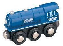 Maxim Parní lokomotiva - modrá