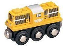 Maxim Dieselová lokomotiva - žlutá