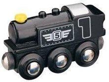 Parní lokomotiva - černá Maxim