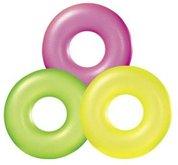 Intex 59262 Plovací kruh 3 barvy neon 91cm