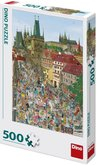 Dino Mostecká věž Praha 500 dílků