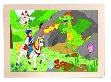 Woody puzzle Princ Bajaja 24 dílků