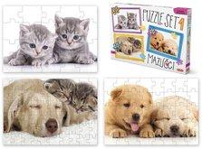 Efko Puzzle SET 1 - Mazlíčci