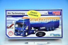 Stavebnice Monti 54 Air Technology Actros L-MB 1:48