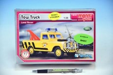 Stavebnice Monti 56 Tow Truck Land Rover 1:35