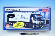 Stavebnice Monti 59 DFDS Transport Actros L-MB 1:48
