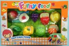 Mac Toys Set potravin na suchý zip II