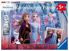 Ravensburger Disney Ledové království 2 3x49 dílků