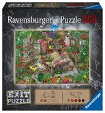 Ravensburger Exit Ve skleníku 164837 368 dílků